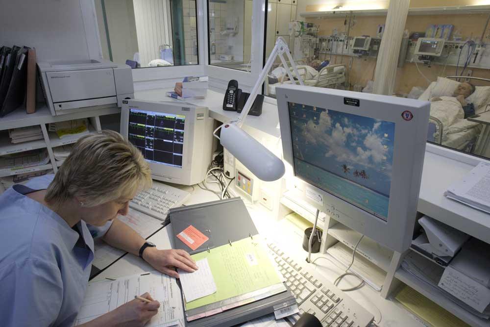 Auf der Stroke Unit kümmern sich Spezialisten um die optimale Akutversorgung.